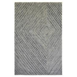 Ručně tkaný kusový koberec Leather Saree