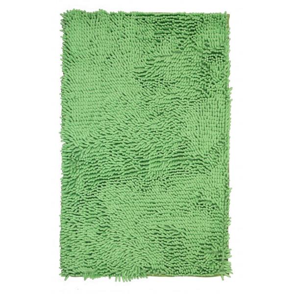 BO-MA koberce Koupelnová předložka RASTA MICRO zelená, kusových koberců 50x80 cm% Zelená - Vrácení do 1 roku ZDARMA vč. dopravy