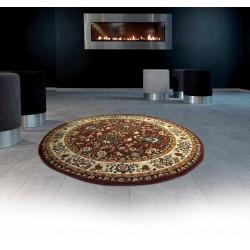 Kusový koberec TEHERAN-T 117/brown kruh