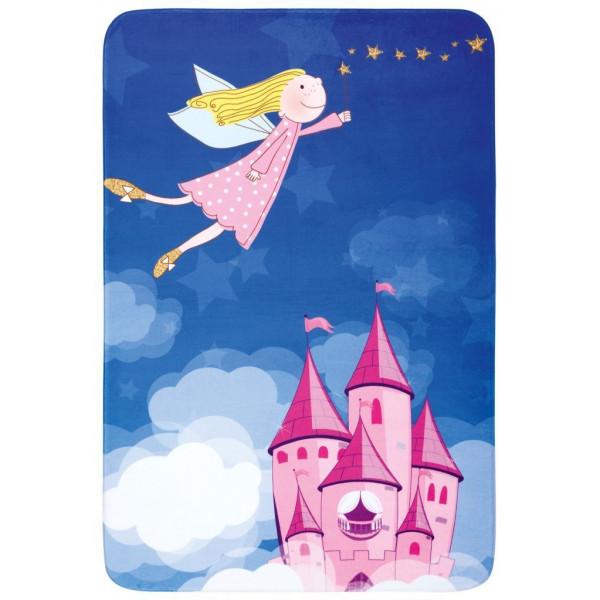 Obsession koberce Dětský kusový koberec Fairy Tale 644 Magic, koberců 100x150 cm Modrá - Vrácení do 1 roku ZDARMA