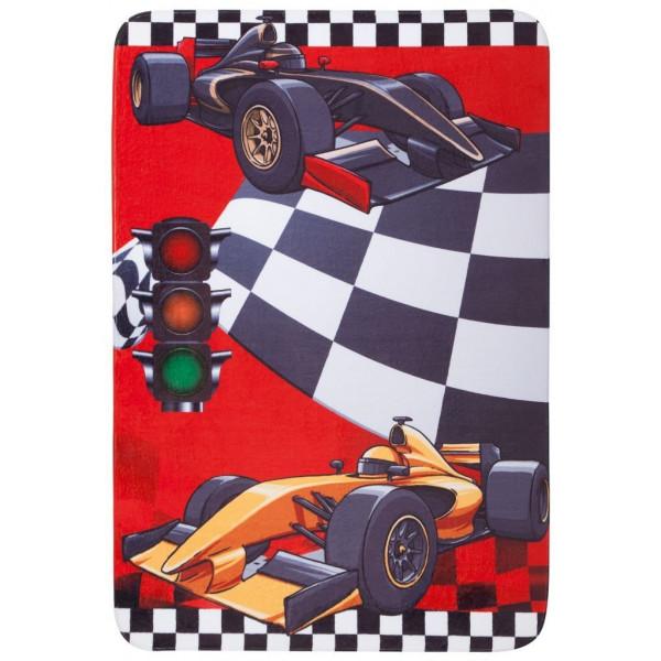 Obsession koberce Dětský kusový koberec Fairy Tale 648 Race, koberců 100x150 cm Červená - Vrácení do 1 roku ZDARMA