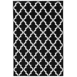 Kusový koberec Black and White 391 Black