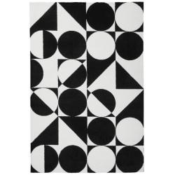 Kusový koberec Black and White 392 Black
