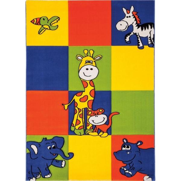 Tulipo koberce Kusový koberec Kiddy 307/052, kusových koberců 120x170 cm% Žlutá - Vrácení do 1 roku ZDARMA vč. dopravy