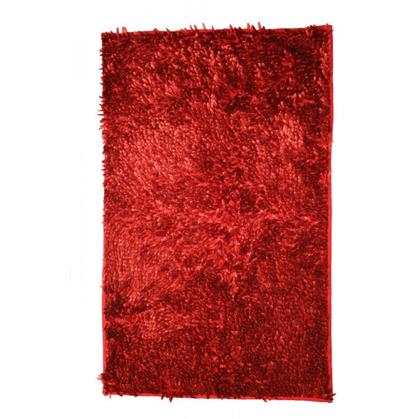 BO-MA koberce Koupelnová předložka RASTA MICRO NEW bordo, kusových koberců 50x80 cm% Červená - Vrácení do 1 roku ZDARMA vč. dopravy