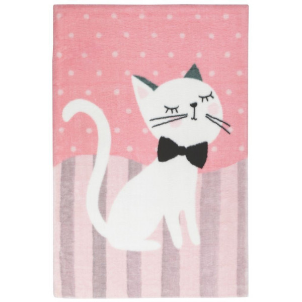 Obsession koberce Dětský kusový koberec Lollipop 180 Kitten, koberců 90x130 cm Růžová - Vrácení do 1 roku ZDARMA
