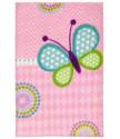 Dětský kusový koberec Lollipop 184 Butterfly