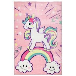 Dětský kusový koberec Lollipop 185 Unicorn
