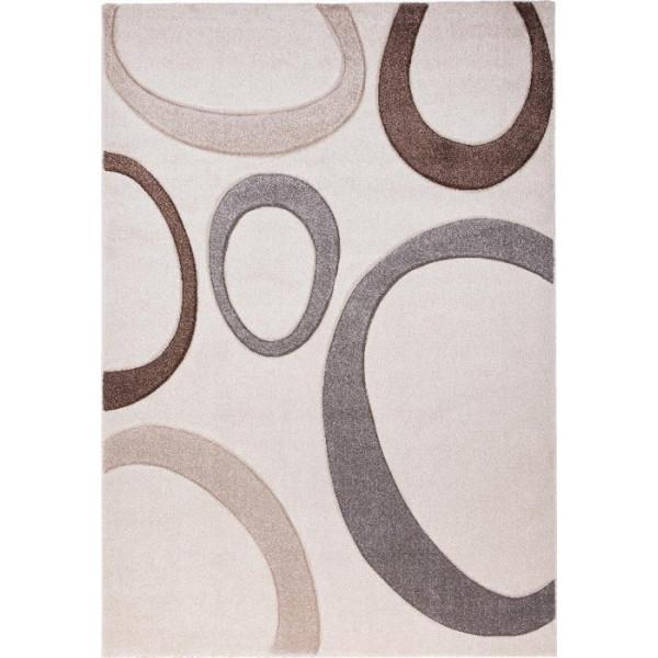 Tulipo koberce Kusový koberec Moderno 15EOE, koberců 70x120 cm Béžová - Vrácení do 1 roku ZDARMA