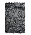 Protiskluzová koupelnová předložka RASTA MICRO NEW černá (je však světle černá až šedá)
