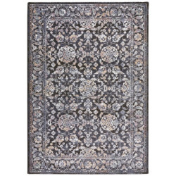 Kusový koberec Toulouse 103339 Dunkelblau Braun