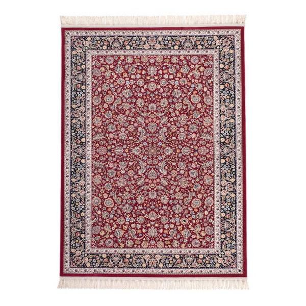 Lalee koberce Kusový koberec Isfahan ISF 902 Red, koberců 80x150 cm Červená - Vrácení do 1 roku ZDARMA