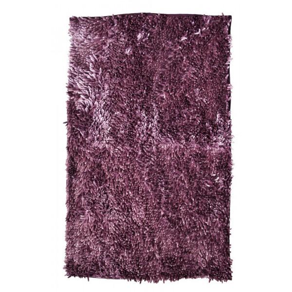 BO-MA koberce Koupelnová předložka RASTA MICRO NEW fialová, kusových koberců 50x80 cm% Fialová - Vrácení do 1 roku ZDARMA vč. dopravy