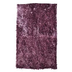 Protiskluzová koupelnová předložka RASTA MICRO NEW fialová
