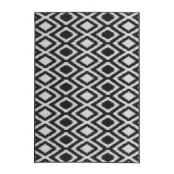 Kusový koberec Sunset SUS 602 Black-White