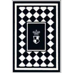 Kusový koberec Princess Royal Black & White RoyalLine-04