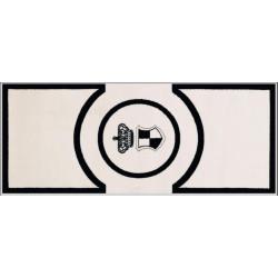 Kusový koberec Princess Royal Black & White RoyalLine-06
