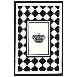 Kusový koberec Princess Royal Black & White RoyalLine-11B