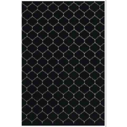 Kusový koberec Princess Royal Black & White RoyalLine-12A