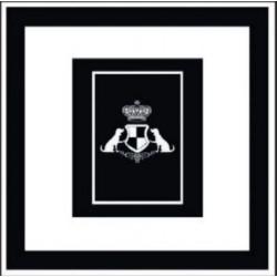 Kusový koberec Princess Royal Black & White RoyalLine-05
