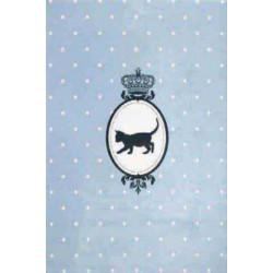Kusový koberec Princess Royal Kids Miezi-02 Cute Blue