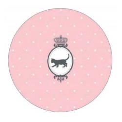 Kusový koberec Princess Royal Kids Miezi-01 Lovely Rose kruh