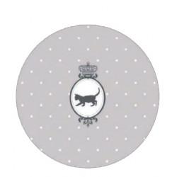 Kusový koberec Princess Royal Kids Miezi-03 Grey Harmony kruh