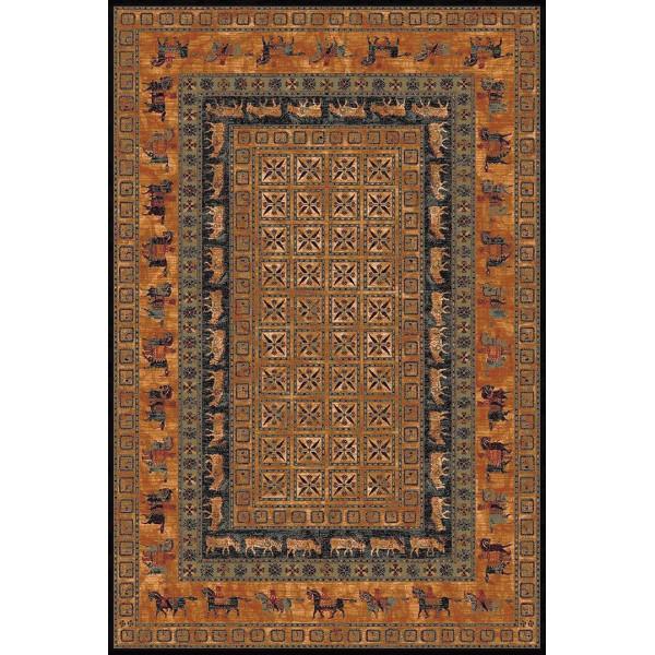 Tulipo koberce Kusový koberec Royal Keshan 10660/3066, kusových koberců 200x300 cm% Oranžová - Vrácení do 1 roku ZDARMA vč. dopravy