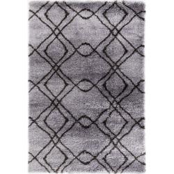 Kusový koberec Carmella K11608-01 Light Grey Dark Grey