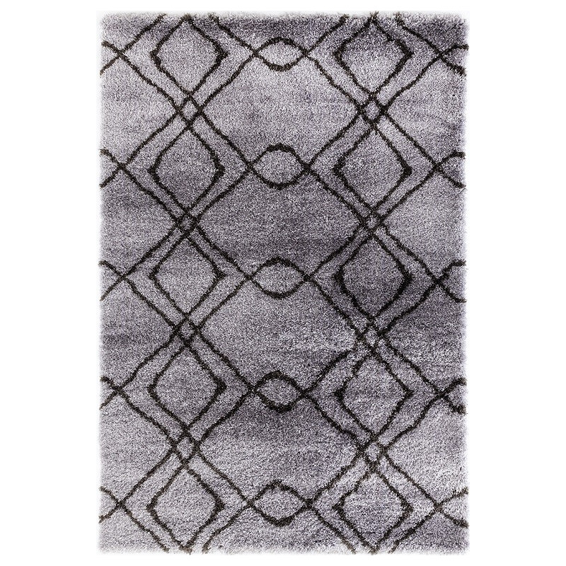 Kusový koberec Carmella K11608-01 Light Grey Dark Grey (Pearl 510 L.Grey/D.Grey)