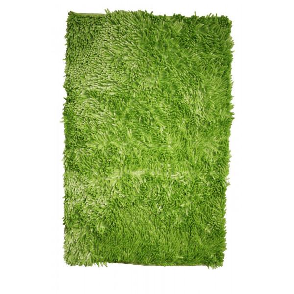 BO-MA koberce Koupelnová předložka RASTA MICRO NEW zelená, kusových koberců 50x80 cm% Zelená - Vrácení do 1 roku ZDARMA vč. dopravy