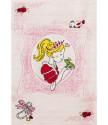 Dětský kusový koberec Momo K11567-09 Pink