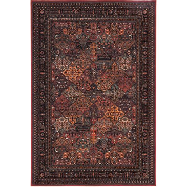 Tulipo koberce Kusový koberec Royal Keshan 4309/300, kusových koberců 200x300 cm% Červená - Vrácení do 1 roku ZDARMA vč. dopravy