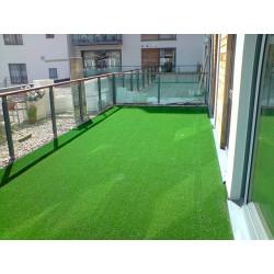 133x400 cm Balkonový travní koberec Summer s nopy