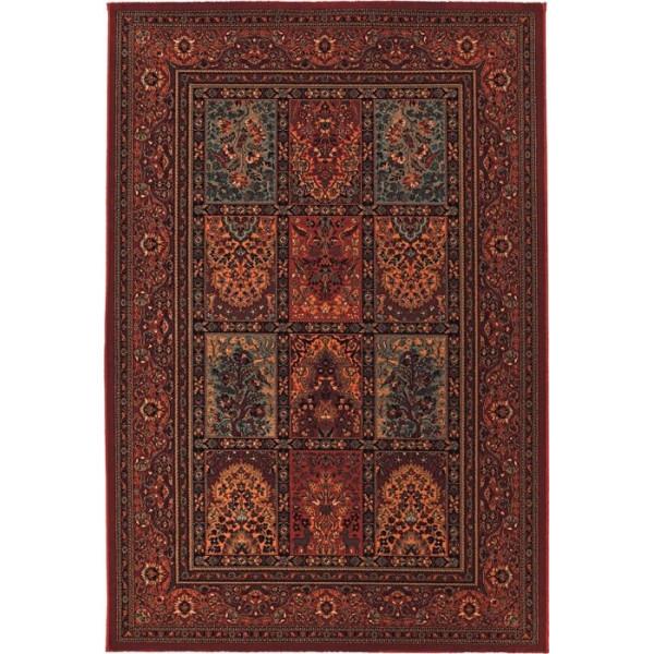 Tulipo koberce Kusový koberec Royal Keshan 4325/300, 200x300 cm% Červená - Vrácení do 1 roku ZDARMA vč. dopravy