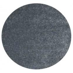 Kusový koberec Columbus K11606-01 Anthracite kruh