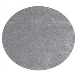 Kusový koberec Columbus K11606-03 Silver kruh