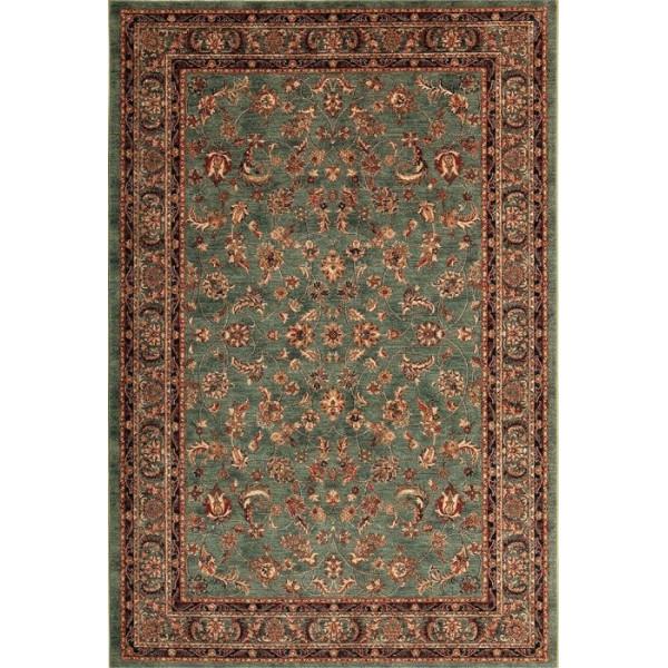 Tulipo koberce Kusový koberec Royal Keshan 4328/401, 200x300 cm% Zelená - Vrácení do 1 roku ZDARMA vč. dopravy