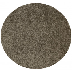 Kusový koberec Princess Poodle Line PL-04 Smoky Quartz kruh