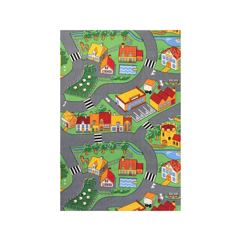Metrážový koberec Little Village 90