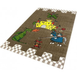 Kusový koberec Momo K11563-05 Coffee