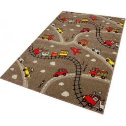 Kusový koberec Momo K11561-05 Coffee