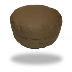 Stylový pohankový sedák jednobarevný, hnědý