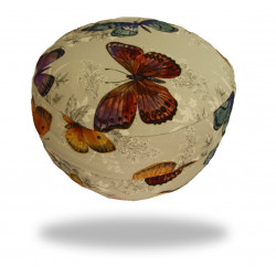 Meditační sedák s motýlky