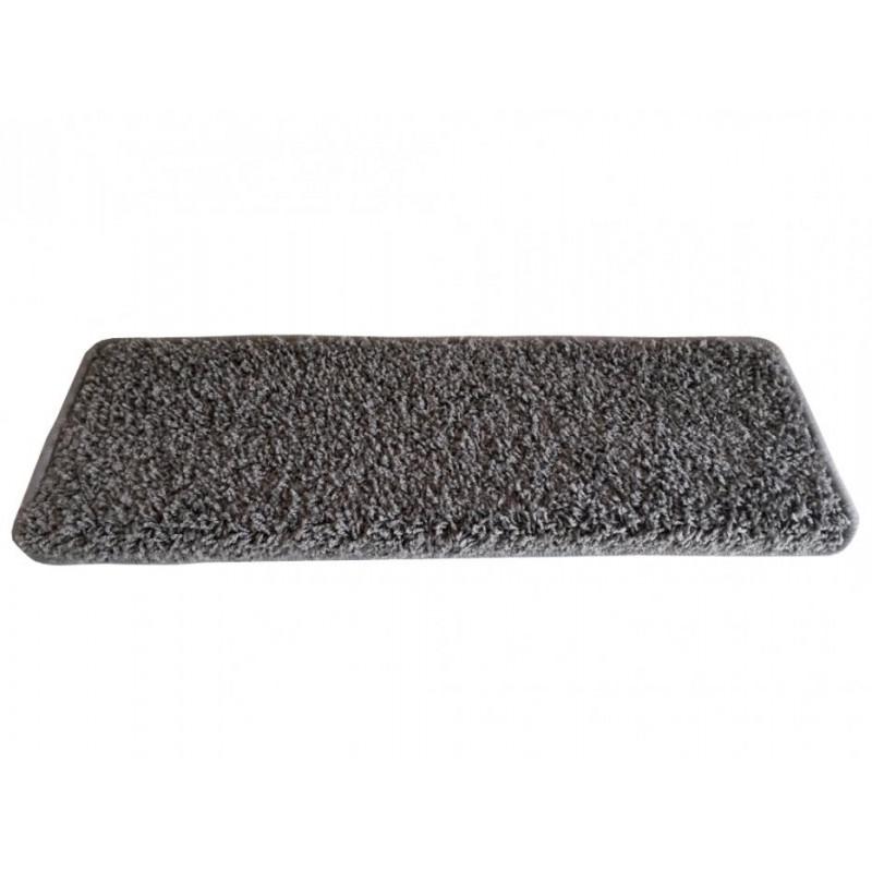 Nášlapy na schody šedý Color shaggy obdélník