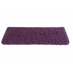 Nášlapy na schody fialový Color shaggy obdélník