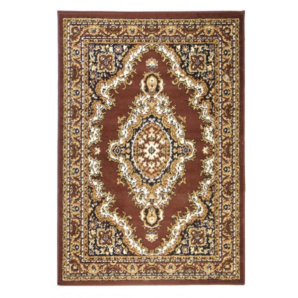 Sofiteks koberce Kusový koberec TEHERAN 102/brown, 200x300 cm% Hnědá - Vrácení do 1 roku ZDARMA vč. dopravy + možnost zaslání vzorku zdarma