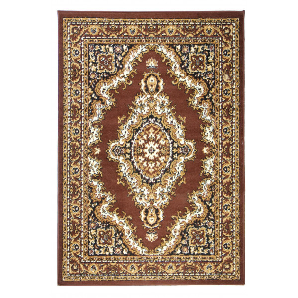 Sofiteks koberce Kusový koberec TEHERAN 102/brown, koberců 130x200 cm Hnědá - Vrácení do 1 roku ZDARMA