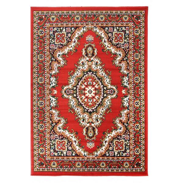 Sofiteks koberce Kusový koberec TEHERAN 102/red, 130x200 cm% Červená - Vrácení do 1 roku ZDARMA vč. dopravy + možnost zaslání vzorku zdarma