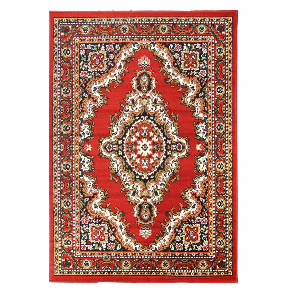 Sofiteks koberce Kusový koberec TEHERAN 102/red, koberců 130x200 cm Červená - Vrácení do 1 roku ZDARMA